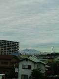梅雨の富士