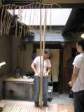 1日目-竹を割る
