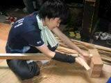 3日目-外竹前竹を削る