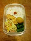今日のお弁当