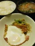 朝ごはんは小松菜使いきり