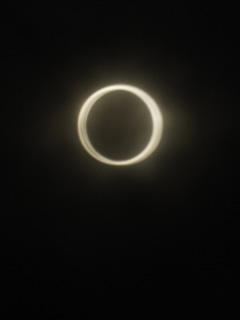 金の環、撮れた〜