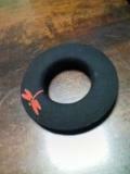 手拭い弦巻「蜻蛉」「豆絞り赤」